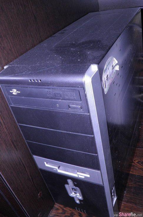电脑变得好慢拆开后竟然发现,里面「那东西」长大了...