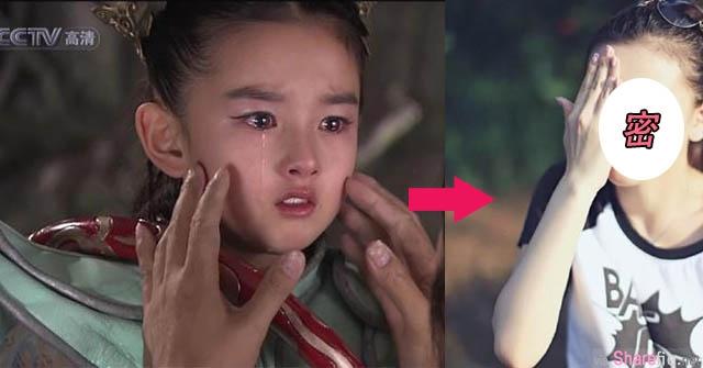这个像是「张柏芝」和「刘亦菲」合体的美丽童星,现在已经18岁了!她竟然变成了如此模样。。。
