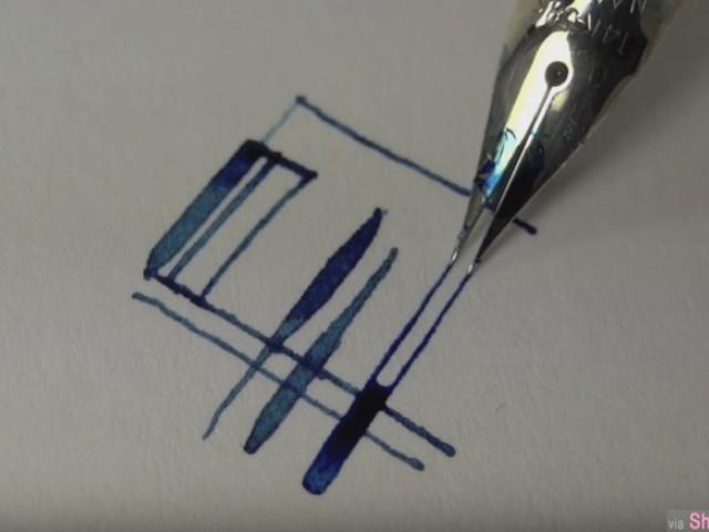 看完才知道,原来钢笔会受人喜爱不是没有原因的,因为作用实在太强大了好多变化啊!
