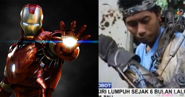 真实版钢铁人在印尼 他用脑波驱动钢铁手臂