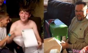 当年被老爸整惨,误以为收到Xbox 儿子8年后布了这个局