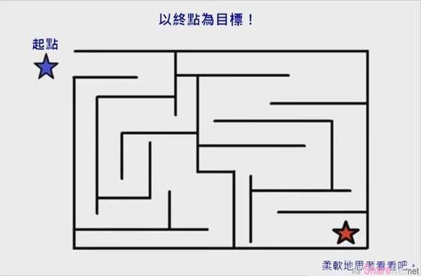 这个「迷宫」据说只有小孩子能够顺利解开?你会吗