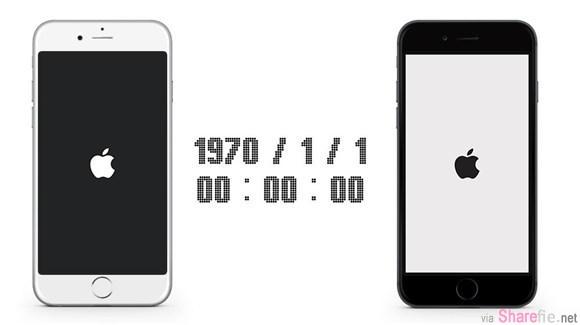 千万别把iPhone手机的时间设定为1970年1月1日  手痒网友试了后手机变砖头