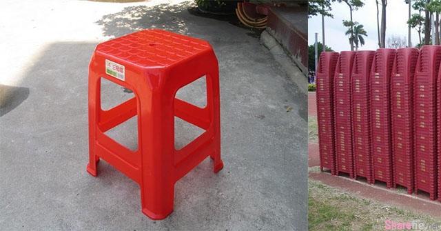 看完你会感激我!「塑胶椅为什么中间有个洞」原来背后有个超级「科学」贴心设计