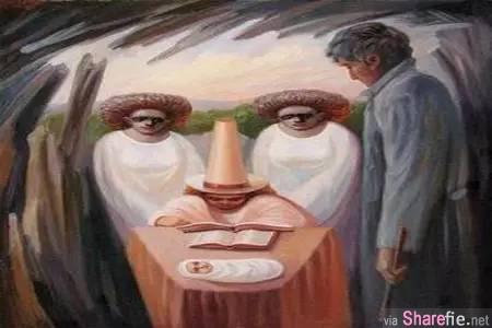 一张图,解读你内心最深的潜意识,揭示你内心的「脆弱程度」! ( 准的太可怕... )