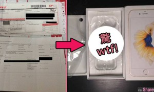 网友在11Street网购iPhone 6s,结果打开包裹一看....网友:WTF