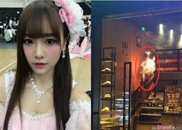 SNH48成员唐安琪在咖啡店神秘自燃!店员还原了真相...现场照也太可怕!