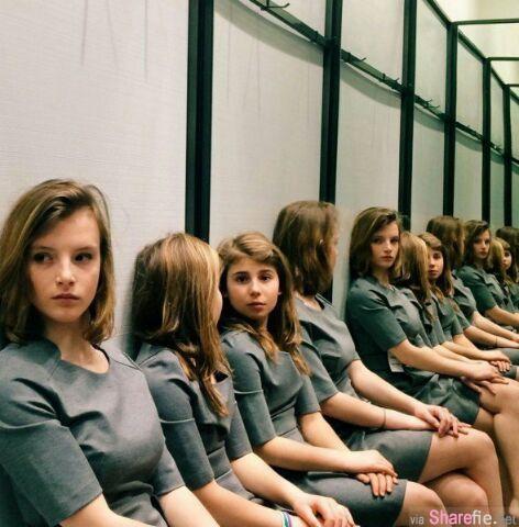 网友又争论:到底这张照片中实际上有几个女孩? 答案是...