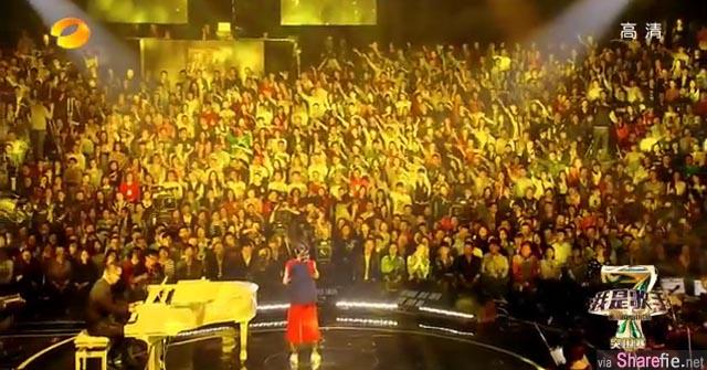 《我是歌手4》 野子苏运莹诠释五月天《知足》现场观众看哭了!