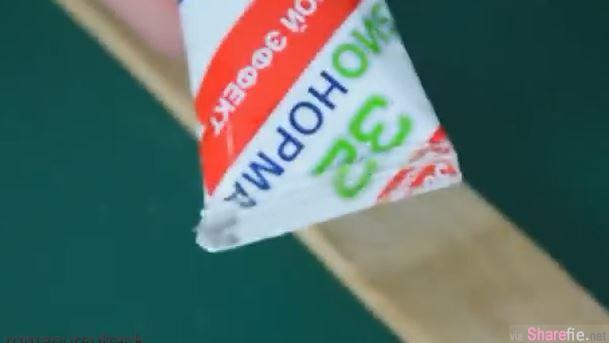 牙膏牙刷用完别丢 他们这样改造后全新再利用!