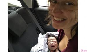 她在honda Jazz轿车后座诞下女婴 事后竟po文要求Honda更换一辆新车 结果...