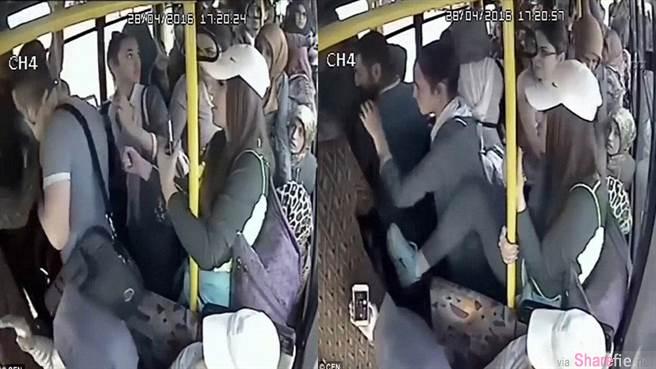 土耳其这名男子在公车公然露下体 他不知道下场会这样惨烈