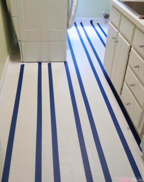 老婆把厨房地板一夜间全部刷白 老公差点晕倒 没想到隔天竟然变这样