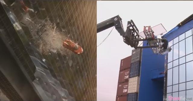 《玩命关头7》里〝飞越大楼〞那一幕一直以为都是特效做的,但原来是…太惊奇了!