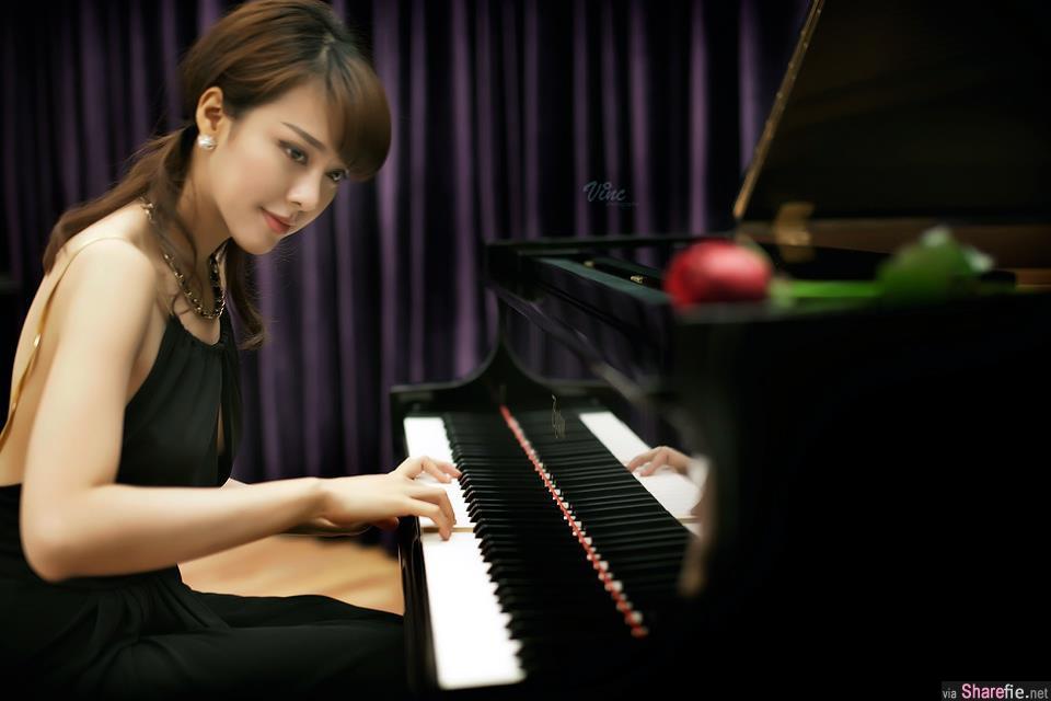 大马美女钢琴家李元玲才华出众又爆兇 网友:好想被她弹