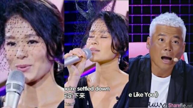 胡杏儿挑战Adele «Someone Like You>»遭评审巫启贤O嘴:吓  网友:唱的很好啊