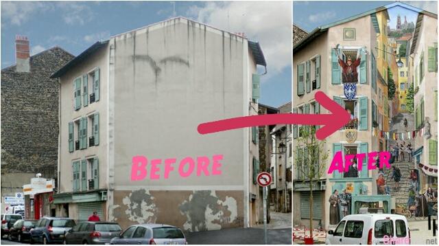 这32张竟然是壁画!他用栩栩如生的壁画改变了这些小镇的命运