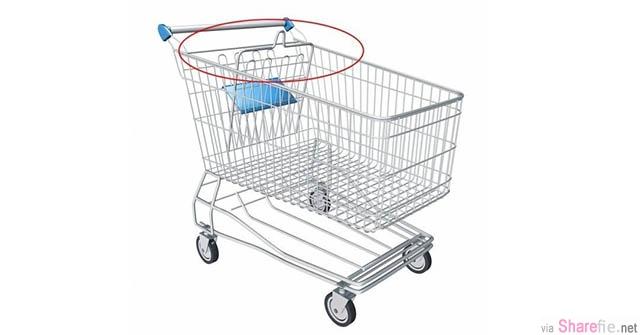 你有发现「购物车上这个突起的东西」吗? 原来它的用意是这样...