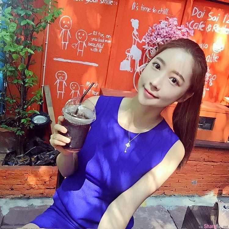 韩国正妹  超兇身材让网友失控 :你可以用下巴搓我 没关系的