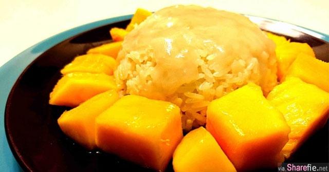 教你只要用电锅也能做出香浓泰式芒果糯米饭