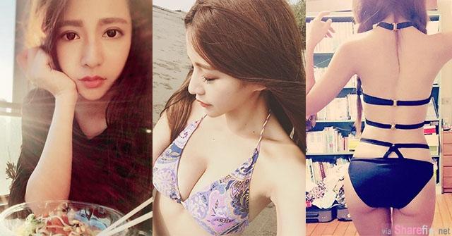 台湾模特 Fairy Chen 比基尼大秀兇器让炎热夏天一阵清凉