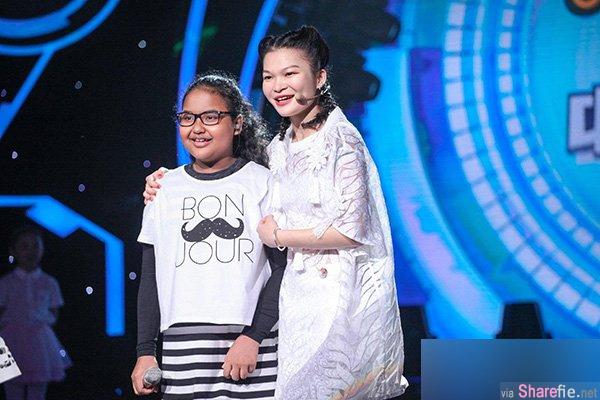 又一大马女童歌声震撼《中国新声代》 一开口就让评审鸡皮疙瘩