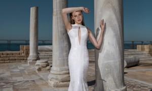 以色列浪漫婚纱 为没新娘做最美嫁衣