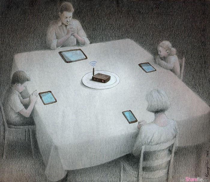13张「社会已经生病了」的现实讽刺插画 最后一张让女生最认同