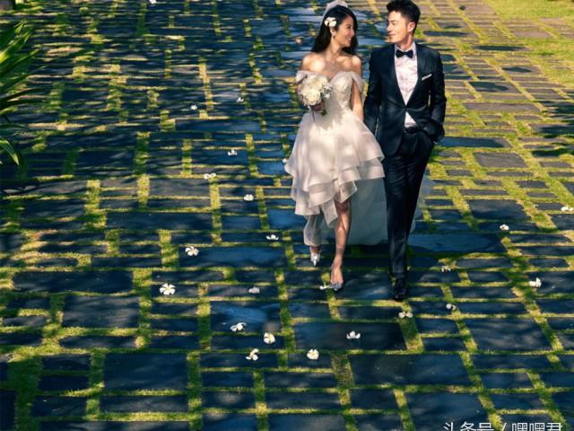 霍建华林心如唯美浪漫婚纱照『高清』