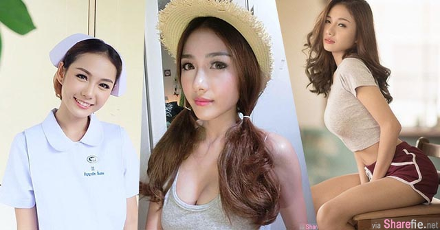 【泰国最美护士】长太正美到心灵都治癒!!快来治癒我吧!