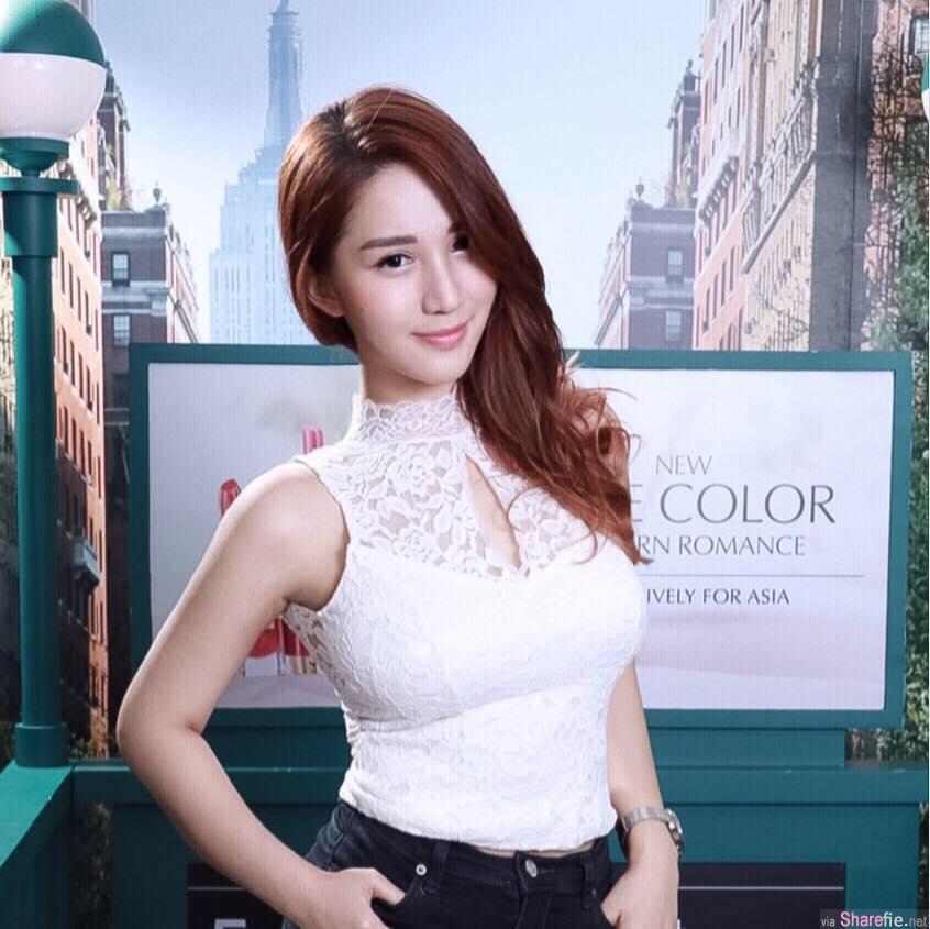 台湾无敌八字奶正妹华华,,乳量惊人让网友鼻血直喷