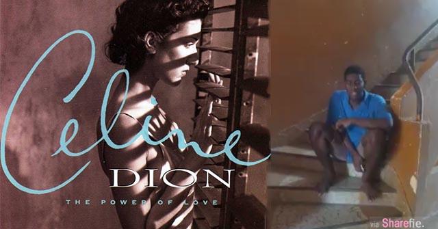 非洲青年深情演唱经典名曲The Power of Love  一夜暴红!连Celine Dion本人也亲自在fb转发