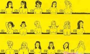 【测试】女人怎样胸型命最好!