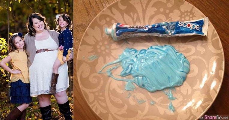 这位母亲拿来一条牙膏和一个盘要女儿把牙膏挤在上面 背后的教育寓意让网友大赞母亲有智慧