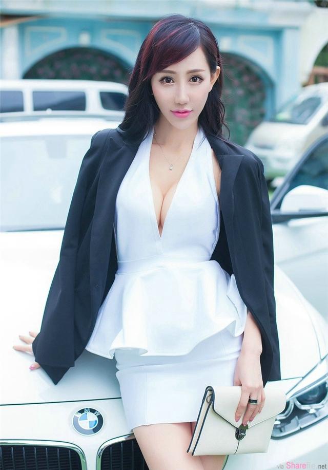 白皙女神安嘉琪图集