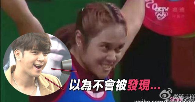 网友发现罗志祥代表泰国参加举重比赛  小猪:「以为不会被发现…」