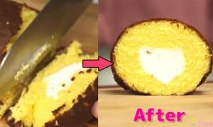 他用这个方法切出完美蛋糕 尤其是第二个切法太有用了