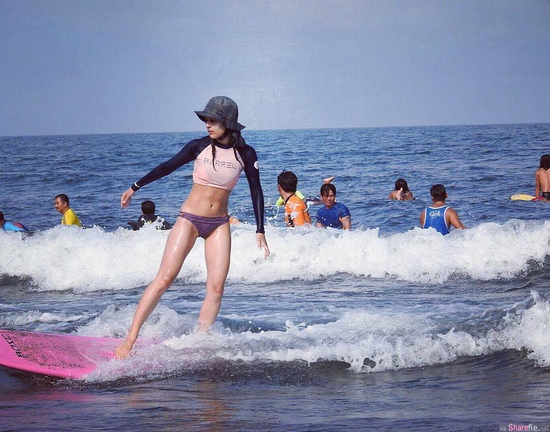 日法极品混血 雷达达 性感冲浪美少女