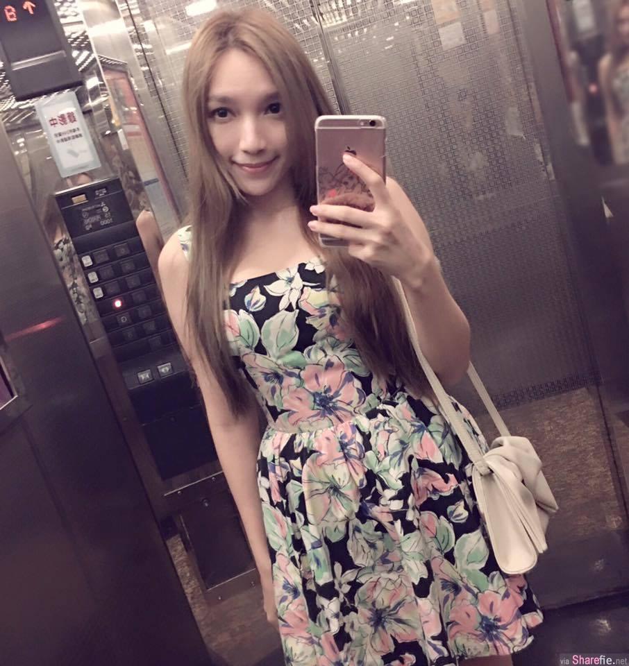 台日荷混血正妹 李玉琳 爆乳小背心  网友:眼睛不知道该看哪里