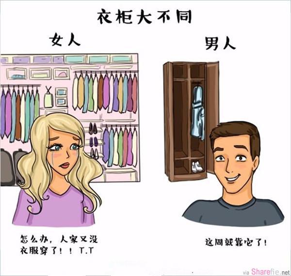 男女之间的区别,最后一张你或许不知道