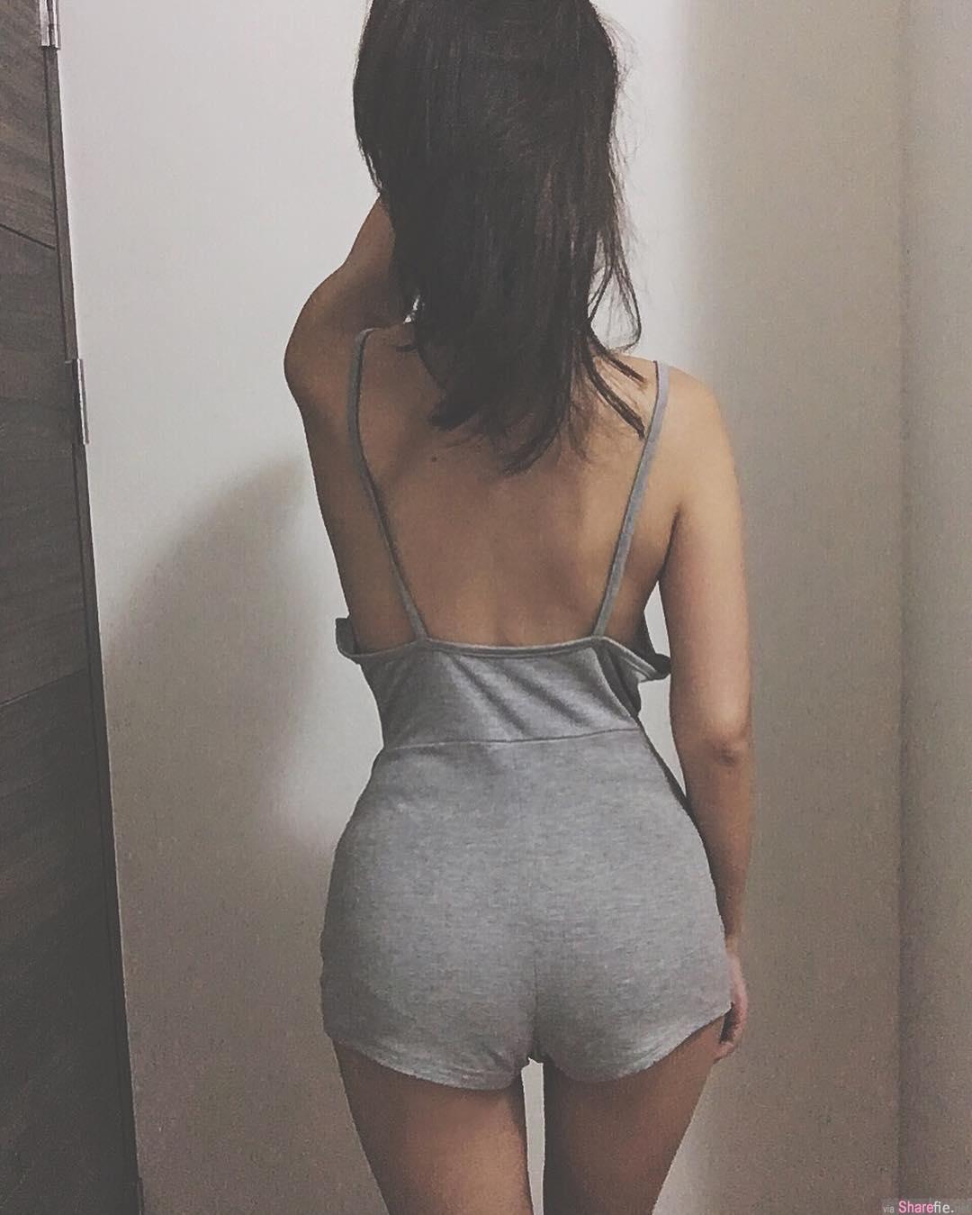 身材很正的IG姐姐,细腰修长美腿让人想多看几眼