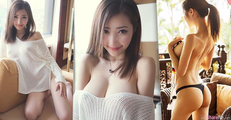 白嫩巨乳正妹 yumi 宽松棉衣差点掉下来 如今索性全裸露出完美曲线