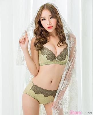 何诗静私房美艳制服内衣写真合集