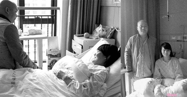 一个是亲骨肉 一个是哥哥 她面对人生非常艰难的选择,最后她选择放弃了肚子里的孩子。