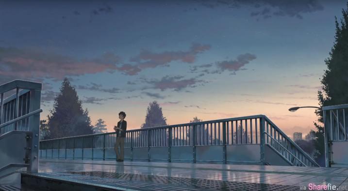 11个日本爆红动画电影《你的名字》的「动画vs.真实场景比较」