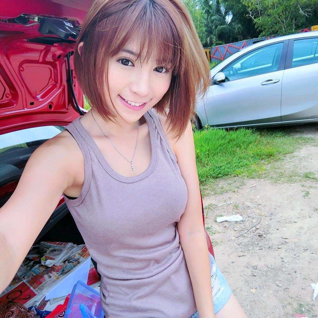 大马正妹 Miko Wong 脾气有点凶