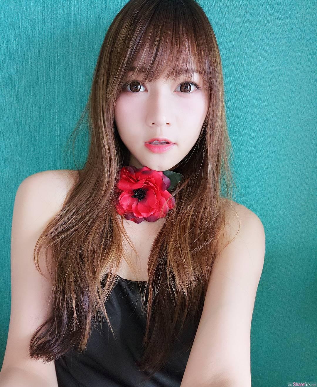 香港正妹设计师简帼仪,白皙甜美比基尼大秀完美身材
