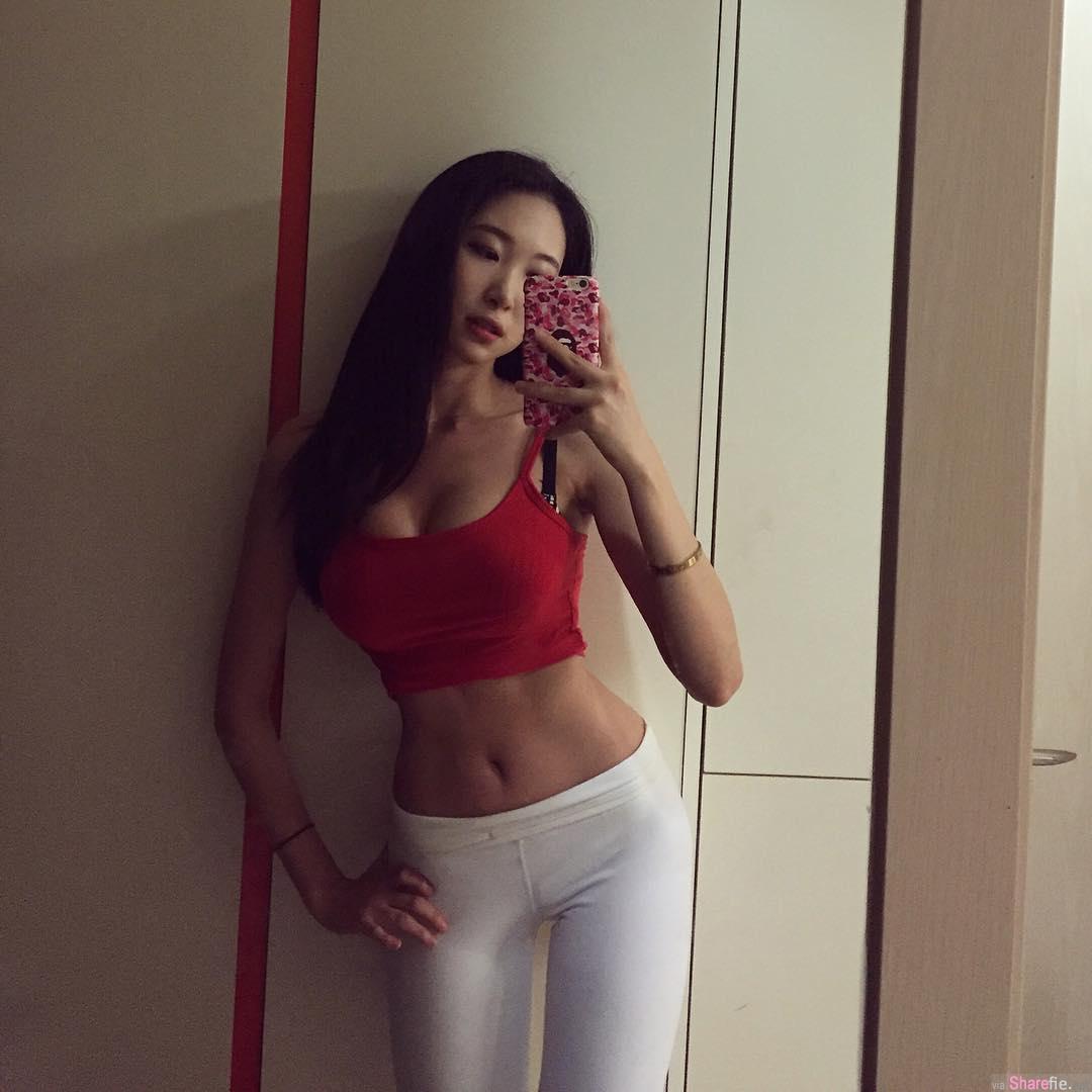 韩国健臀模特Su-a Sin,极品翘臀根本不科学