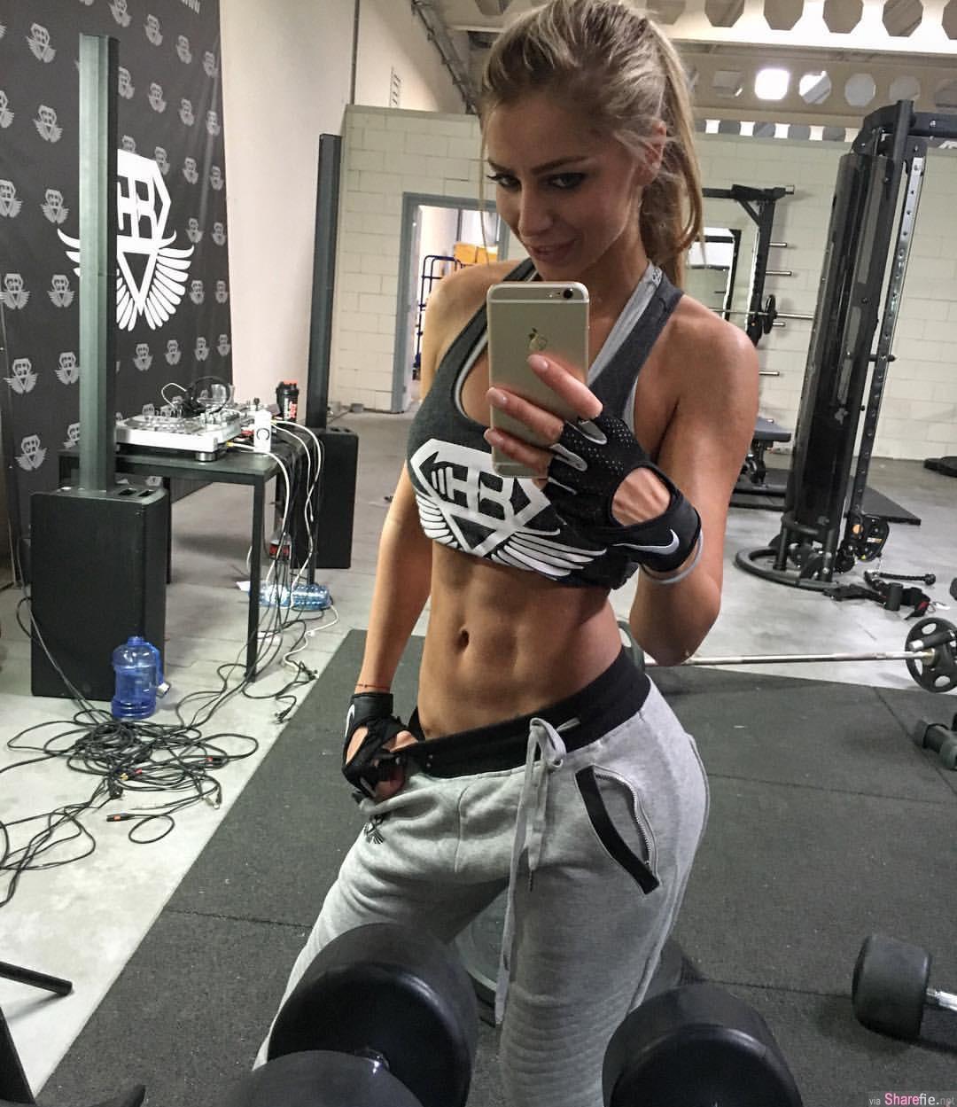 拉扎尔御用美女陪练Yanita Yancheva,健身大美妞