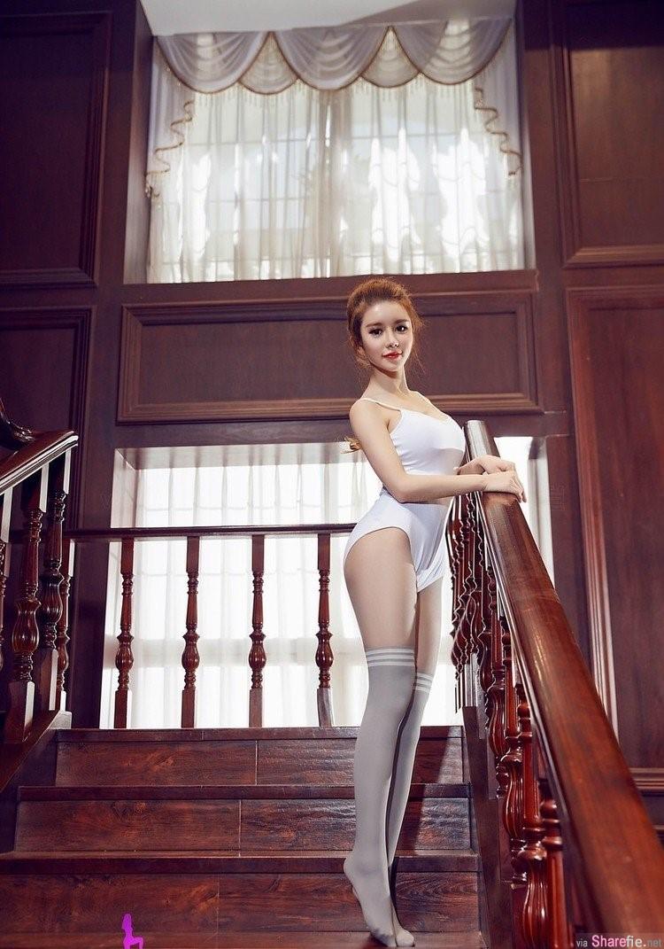 美腿女神乔柯涵 超大尺度写真让网友看傻眼